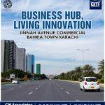 Business Hub Jinnah Avenue Commercial – Bahria Town Karachi