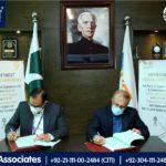 Bahria Town Karachi and KE Signs an Agreement