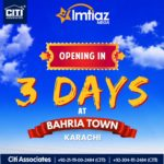 Imtiaz Mega Store Opening in Bahria Town Karachi