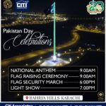 Pakistan Day Celebrations at World's tallest Obelisk Flag Pole | Bahria Hills Karachi
