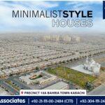 Minimalist Style Houses | Bahria Town Karachi
