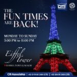 The Fun Times are Back | Bahria Eiffel Tower Karachi