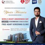 World Heart Awareness Day   Free Heart Screening Clinic   Bahria Town Karachi